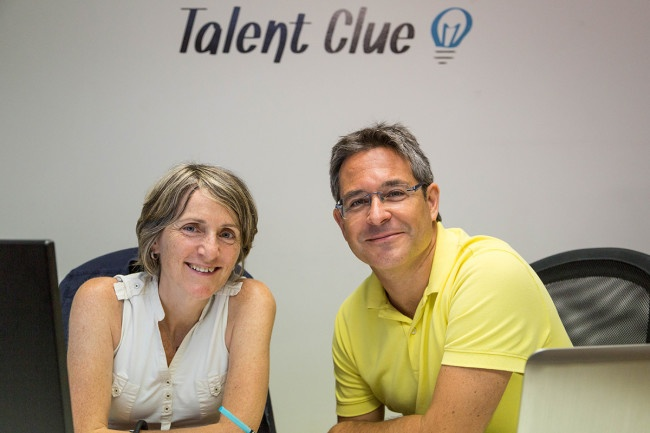 Ivan Sala, Fundador y Ana Izquierdo, CEO de Talent Clue