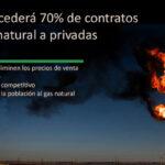 Pemex cederá 70% de contratos de gas natural a privadas