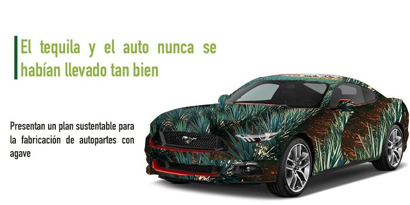 Ford y José Cuervo: Alianza sustentable para fabricar autos