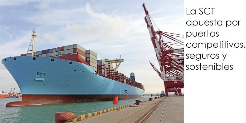 Puertos competitivos, seguros y sostenibles