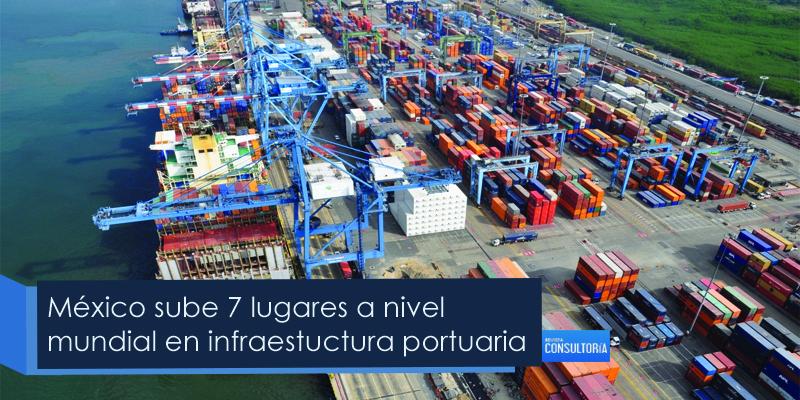 México escala siete posiciones en infraestructura portuaria
