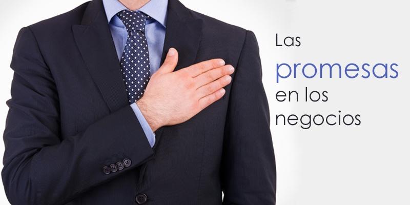 promesas negocios