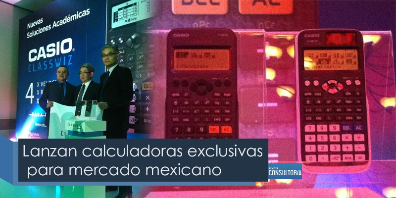 Serie exclusiva para el mercado mexicano de calculadoras académicas