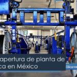 Apertura de planta de Fibra Óptica en México