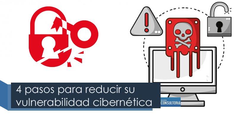 4 pasos para reducir su vulnerabilidad cibernetica - Cuatro pasos para reducir su vulnerabilidad cibernética