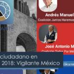 Monitoreo ciudadano en Elecciones Presidenciales 2018: Vigilante México