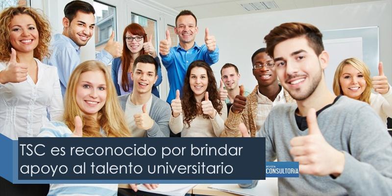 TSC es reconocido por brindar apoyo al talento universitario mexicano - TSC es reconocido por brindar apoyo al talento universitario mexicano