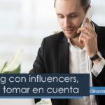 Marketing con influencers, puntos a tomar en cuenta