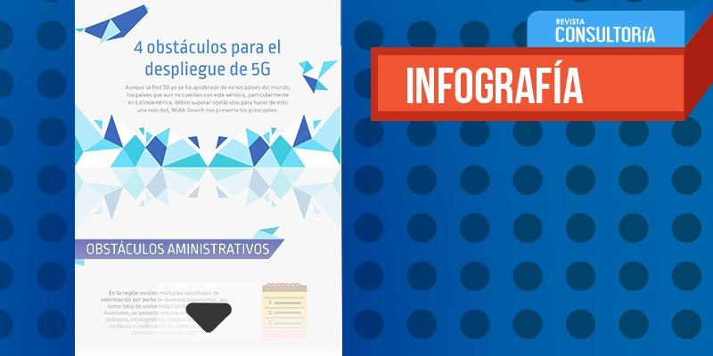 4 obstáculos para el despliegue de 5G