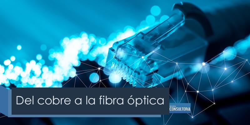 del cobre a la fibra optica - Del cobre a la fibra óptica