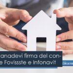 Celebra Canadevi firma del convenio entre Fovissste e Infonavit