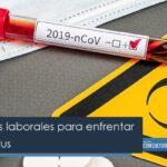 5 Estrategias laborales para enfrentar al coronavirus