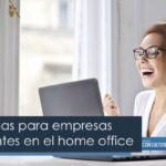 Plataformas para empresas principiantes en el home office