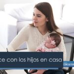 Home Office con los hijos en casa