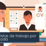 Las entrevistas de trabajo por videollamada
