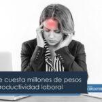 La migraña le cuesta millones de pesos al año a la productividad laboral