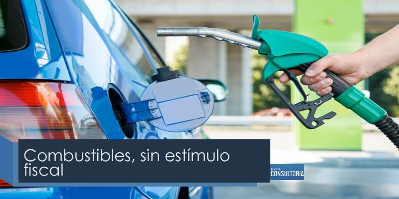 combustible - Combustibles, sin estímulo fiscal