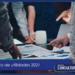 Reparto de utilidades 2021